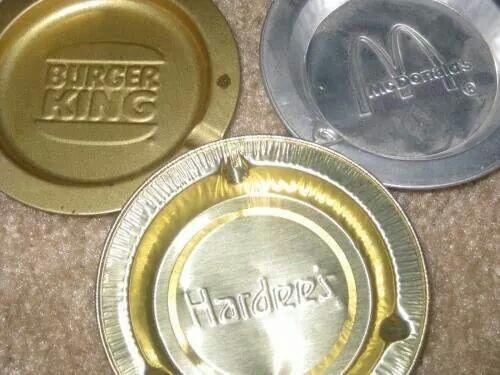fast food ashtrays