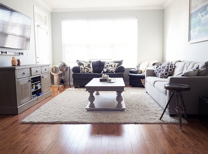 living room mistakes big rug | Interior Decor Advice in 2018 ...