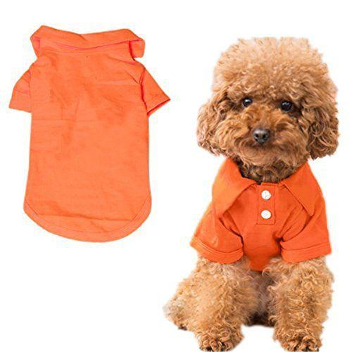 DroolingDog Hund Baumwolle T Shirts Haustier-Hund kleidet Hunde-T-Shirt f/ür kleine Hunde