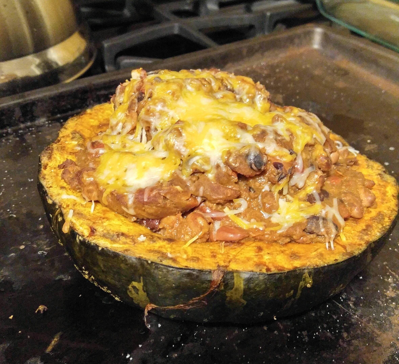 Chilli Stuffed Buttercup Squash Recipes Food Cooking Delicious Foodie Foodrecipes Cook Recipe Health Recipes Food