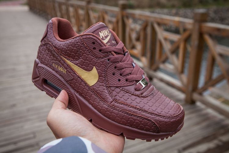 the latest 0ea53 a7fb1 Nike Air Max 90 Diamondback Quickstrike Chocolate Gold Womens,Discount shoes,cheap  sneakers