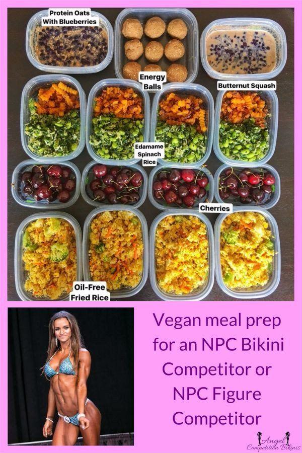 Vegan Bikini Competitor Vegan Meal Plans Workout Food Vegan Diet Plan