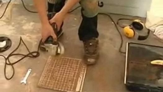 The Angle Grinder Is An Ideal Power Tool When Used In Cutting Floor