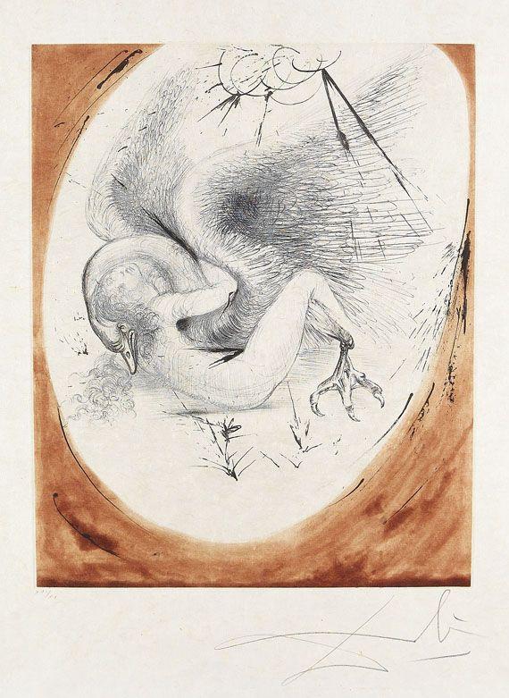 Salvador Dalí - Leda