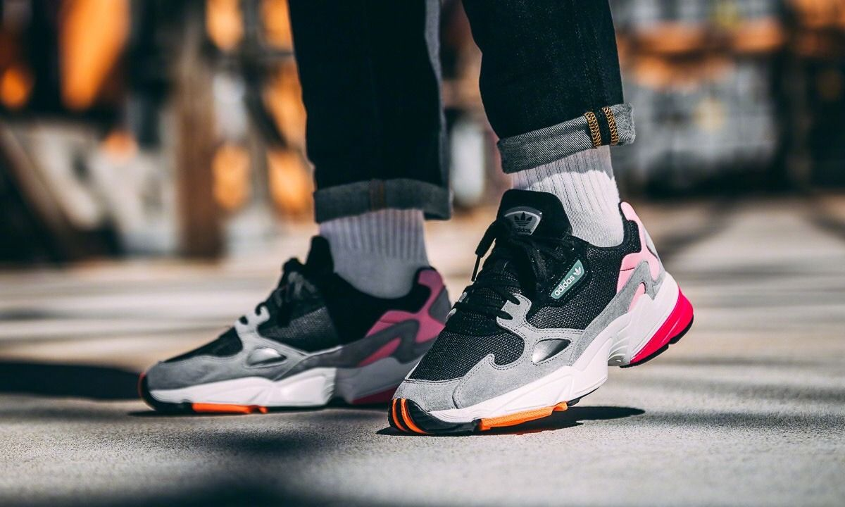 Kylie Jenner adidas Falcon Black Pink B28126 Release Date
