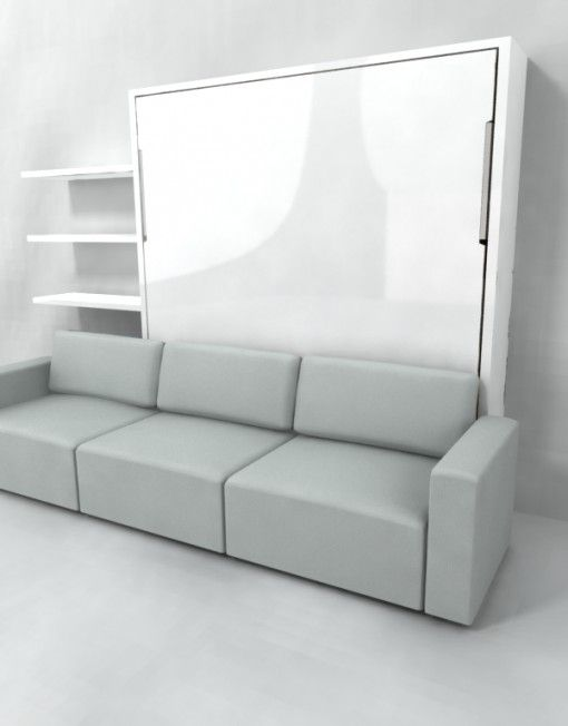 Best Murphysofa King Size Wall Bed Over Sectional Sofa Tiny 400 x 300