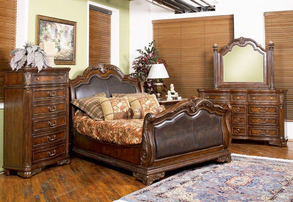 Best Regal Sleigh Bedroom Set By A R T Camas Muebles De 400 x 300