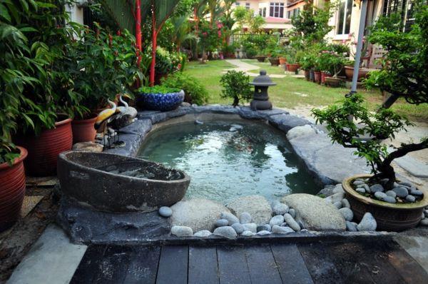 schnen gartenteich anlegen gestalten sie einen wassergarten cool gartenteich anlegen wassergarten gestalten kunst - Gartenteich Ideen