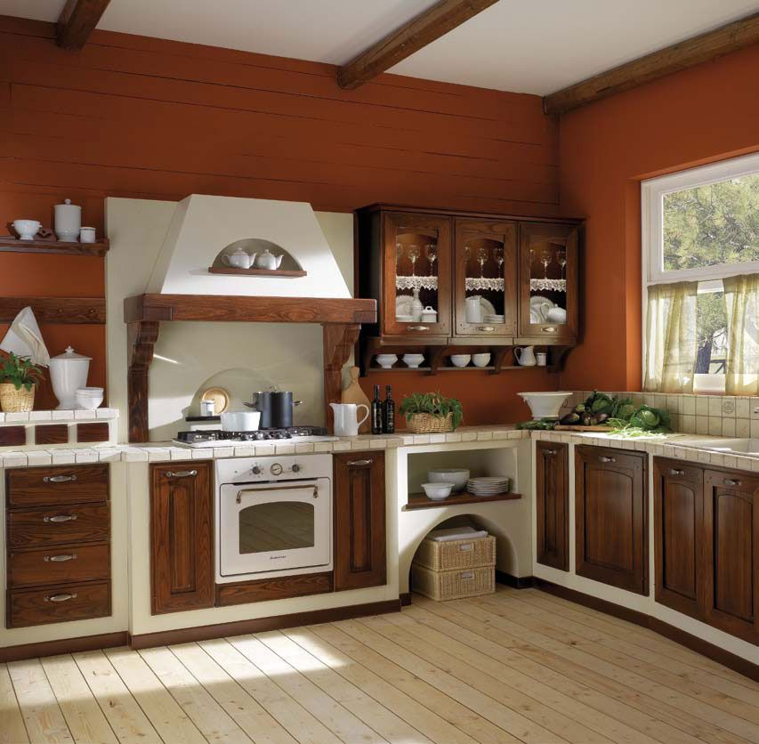 Cucine in muratura: Cucina Thuia da Gatto Cucine | Cucina in ...