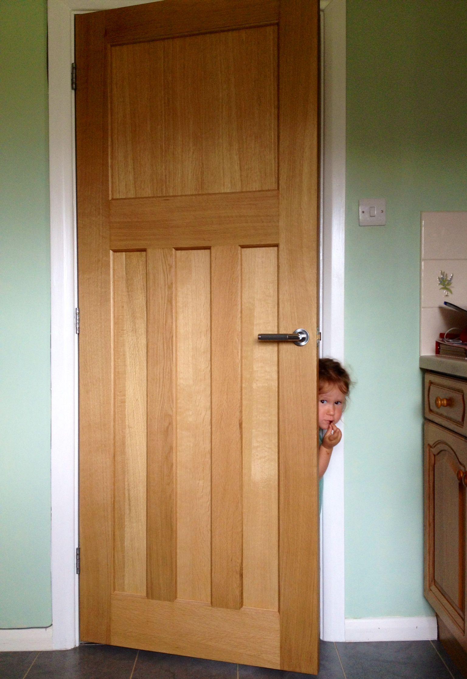 1930\u0027s Style Panelled Oak Door. One over three period oak internal door.  & 1930\u0027s Style Panelled Oak Door. One over three period oak ...