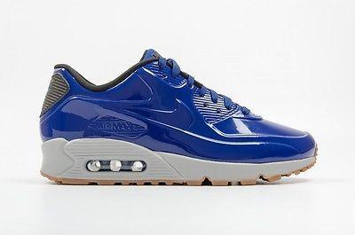 9cb8468b52 New Nike Air Max 90 VT QS Deep Royal Blue Gum Bottom Size 1011 or 12 831114  400
