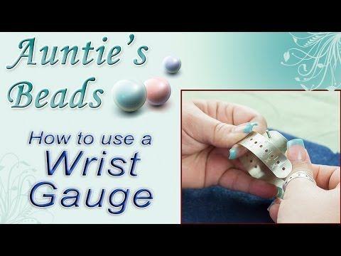 Karla Kam - How to use a Wrist Gauge Tool