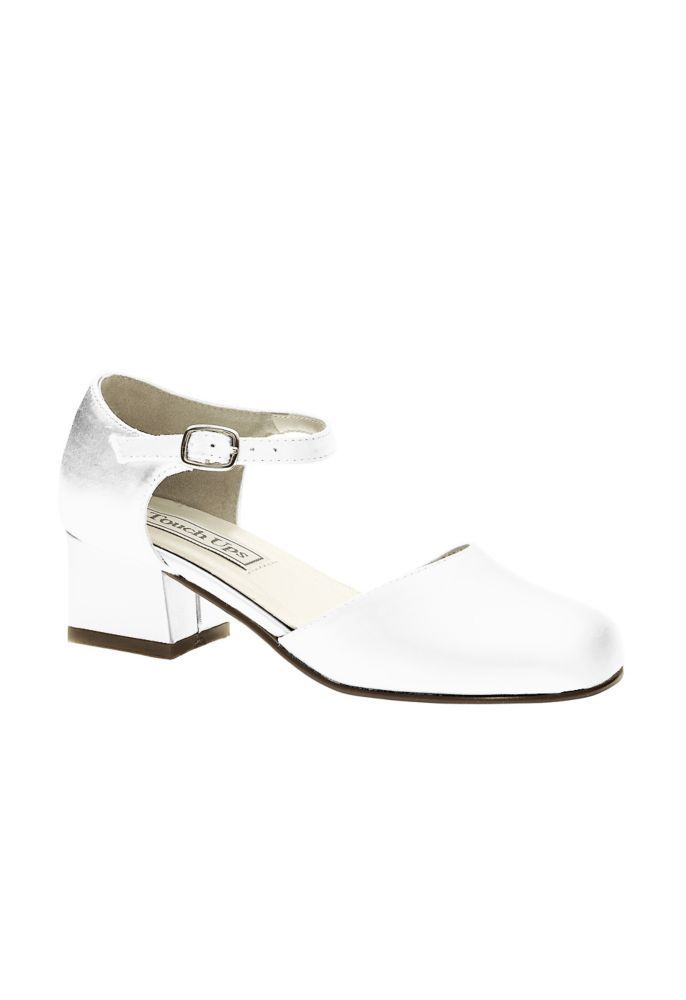 76591915fb9 Clarissa Classic Flower Girl Shoes by Touch Ups Style CLARISSA
