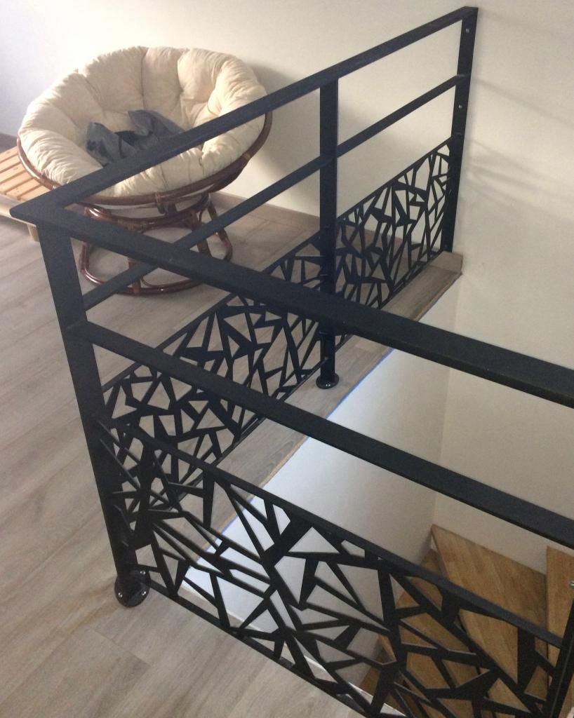 garde corps m tallique art m tal concept stair in 2019. Black Bedroom Furniture Sets. Home Design Ideas