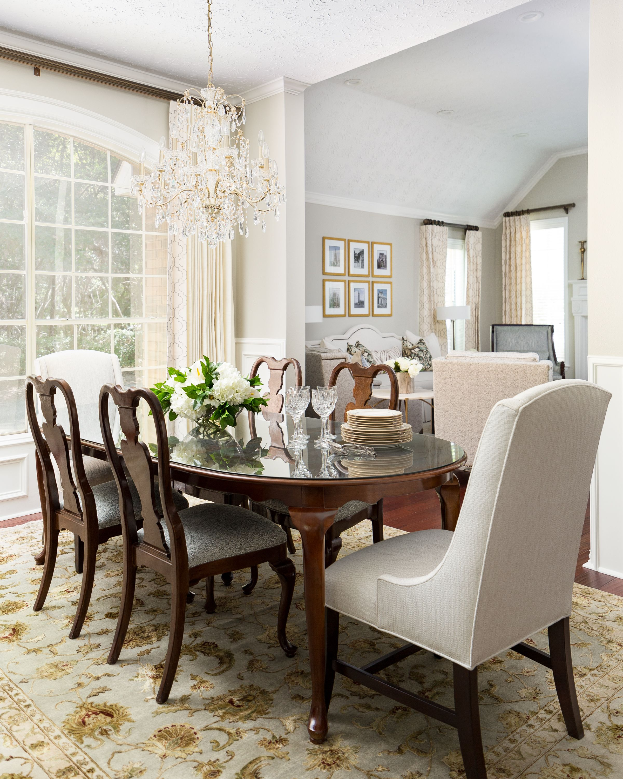 Project Reveal Traditional And Timeless In The Woodlands Terravista Design Group Classic Dining Room Dining Room Decor Traditional Traditional Dining Room Furniture #update #traditional #living #room