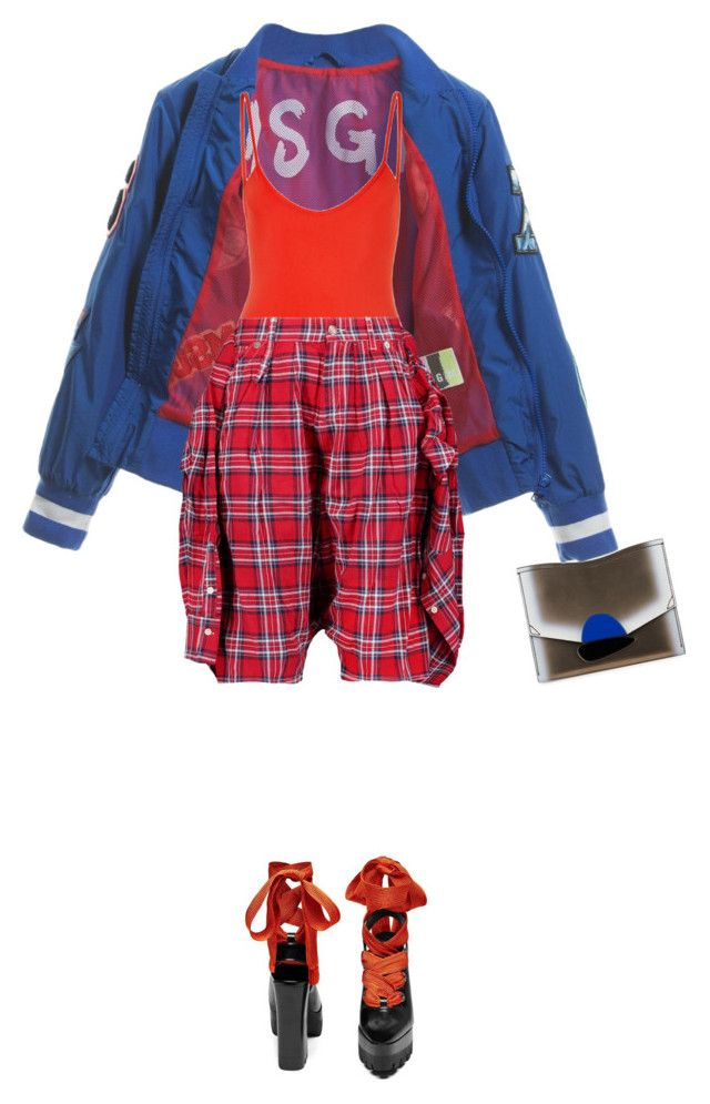 """""""I got you"""" by nastasiaboursi on Polyvore featuring Proenza Schouler, MSGM, Bower and R13"""