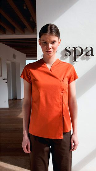 S 347 balneo spa esthetics spa uniform hotel uniform for Uniform for spa staff