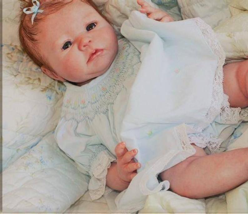 Reborn Baby Albree Free Layette Etsy In 2021 Baby Dolls For Kids Reborn Baby Girl Reborn Babies