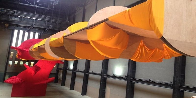 Richard Tuttle Unveils Tate Turbine Hall Commission And Whitechapel Retrospective http://www.artlyst.com/articles/richard-tuttle-unveils-tate-turbine-hall-commission-and-whitechapel-retrospective