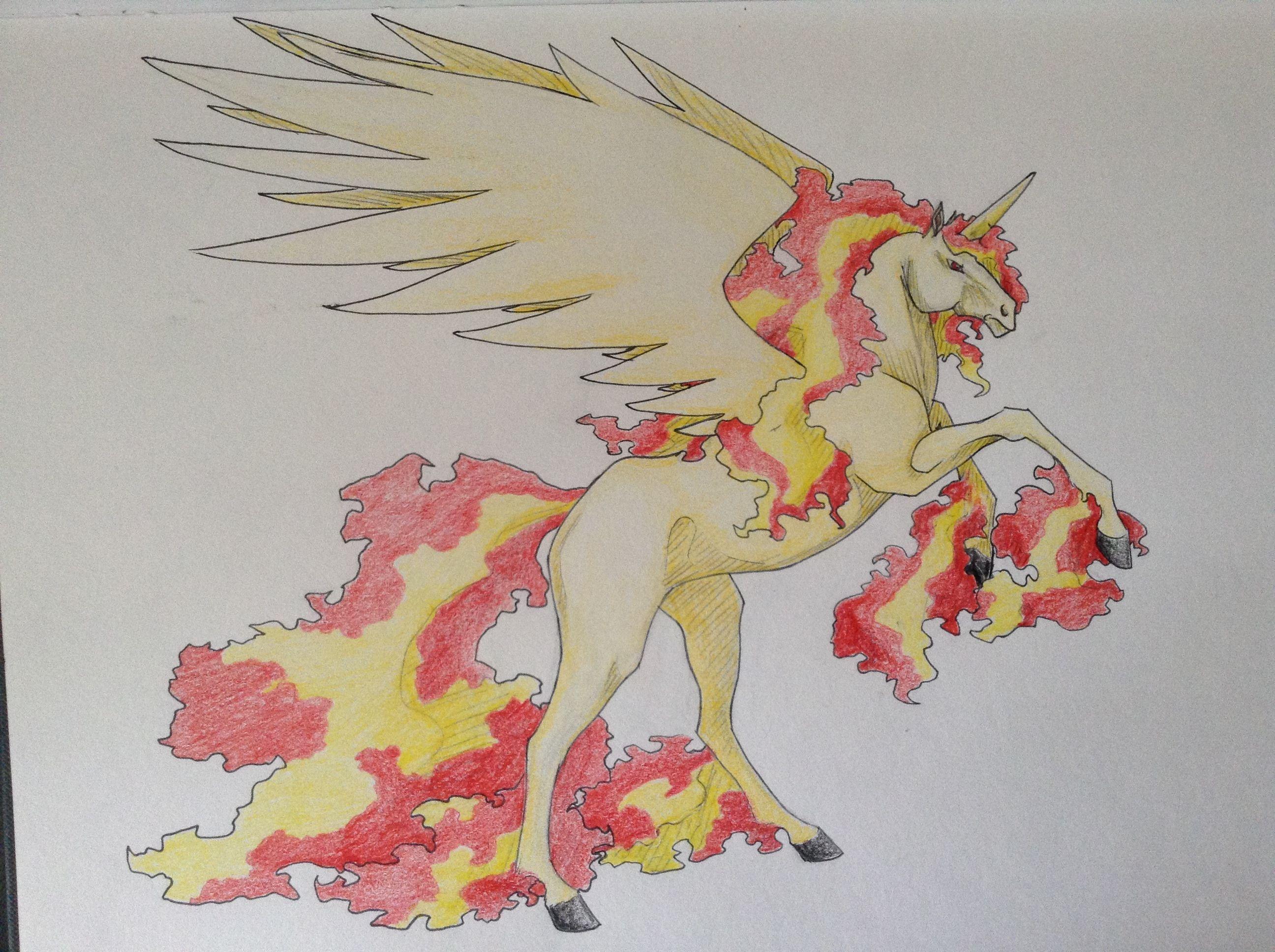 Non Existant Mega Rapidash By Immacatastrophe On Deviantart Pokemon Tattoo Pokemon Unicorn Art