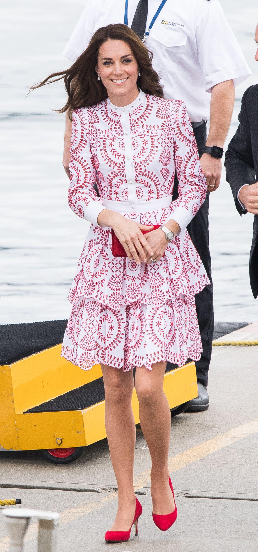 Vistoso Vestido De La Recepción De La Boda De Kate Middleton ...