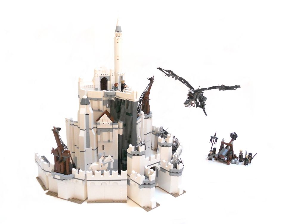 Lord Of The Rings Set Minas Tirith Minas Tirith Lord Of The