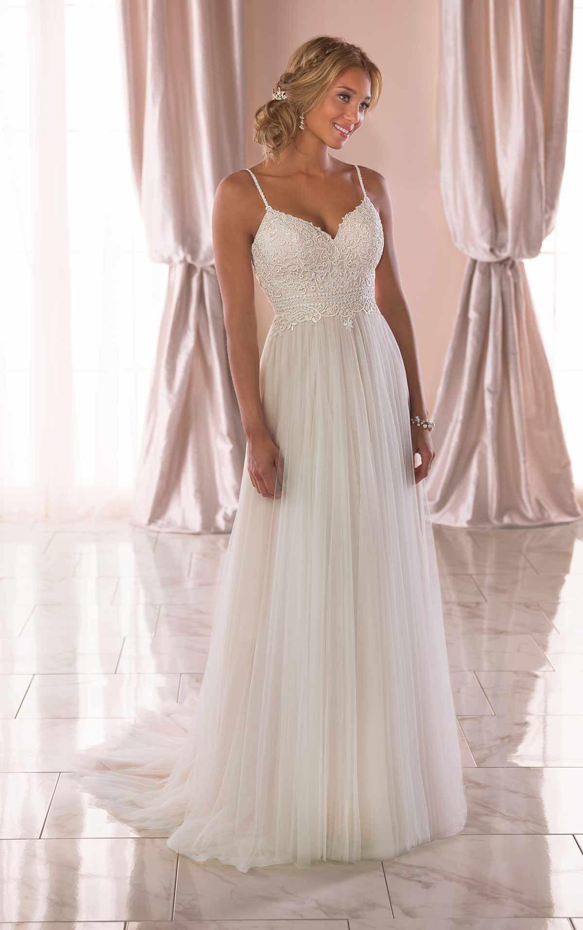 fad274350425 Casual Wedding Dress with Back Detail - Stella York Wedding Dresses 6788