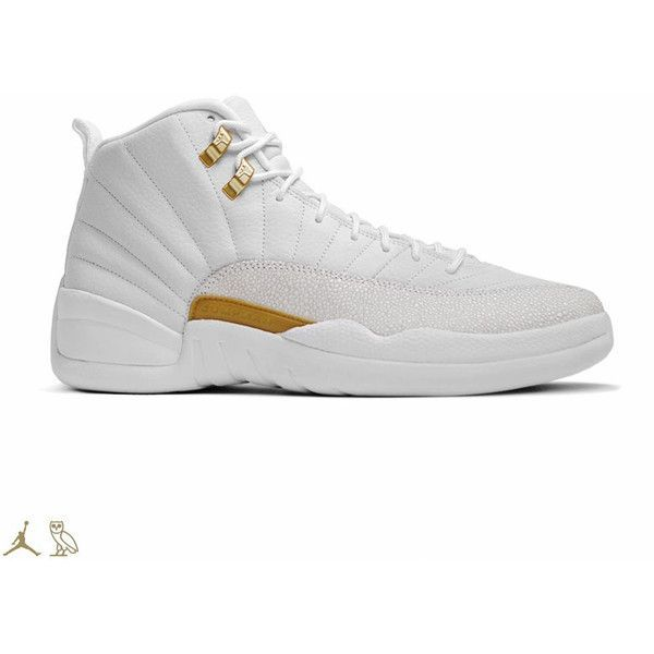 An Official Look at Drakes OVO Air Jordan Collection ❤ liked on Polyvore  featuring shoes,