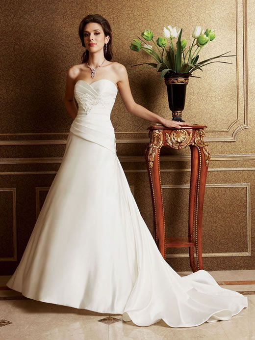 Jasmine Collection Style F206 Color: Ivory Size 14