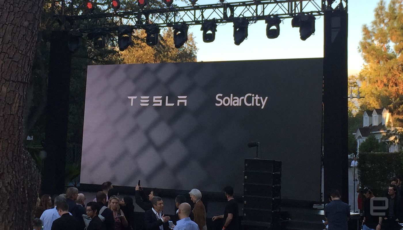 Tesla Unveils Its Solar Roof And Powerwall 2 Solar Solar Roof Luxury Landscaping