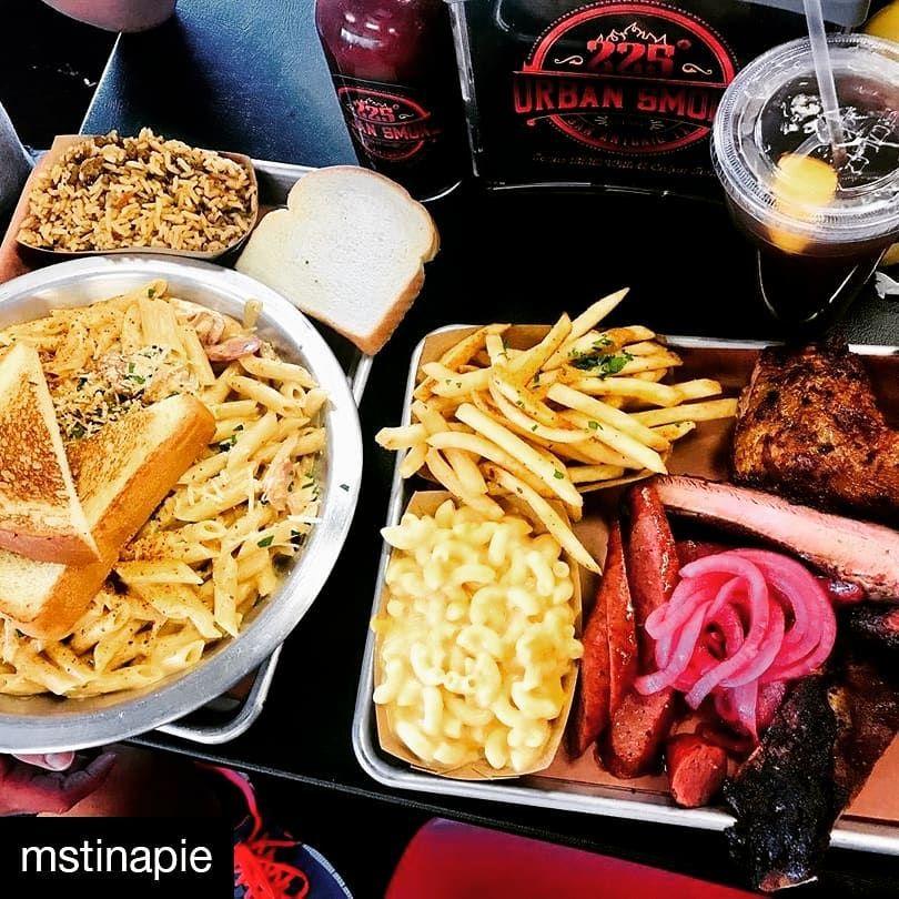 @mstinapie • • • • • • It's true, Texas make some yummy BBQ!