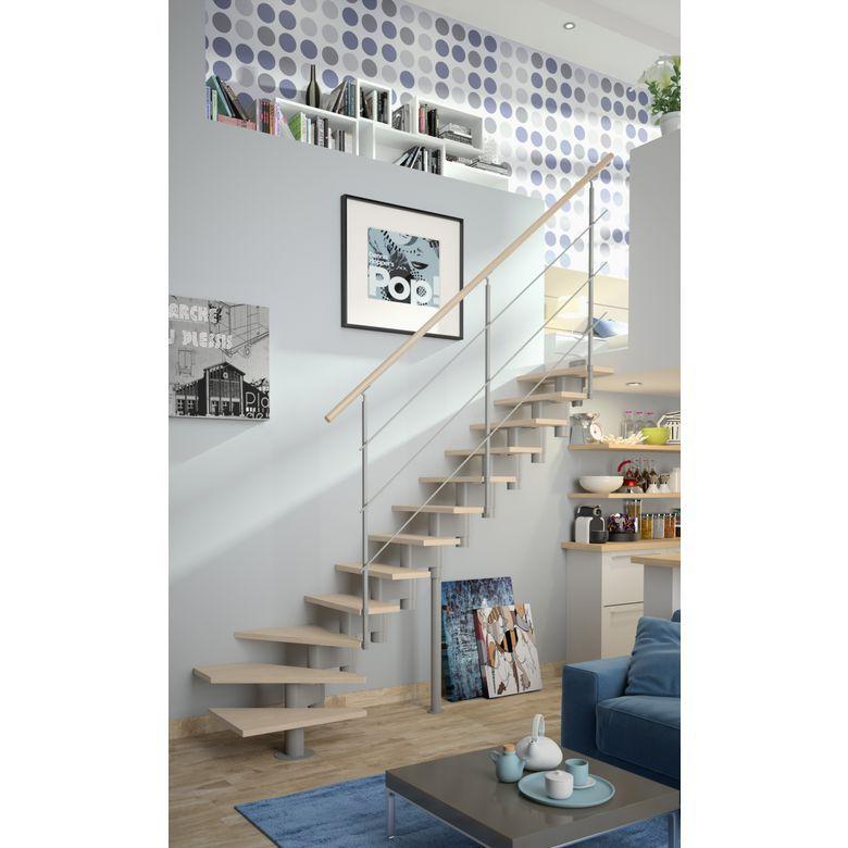 Echelle Gain De Place Quart Tournant Bas London Sapin Escalier