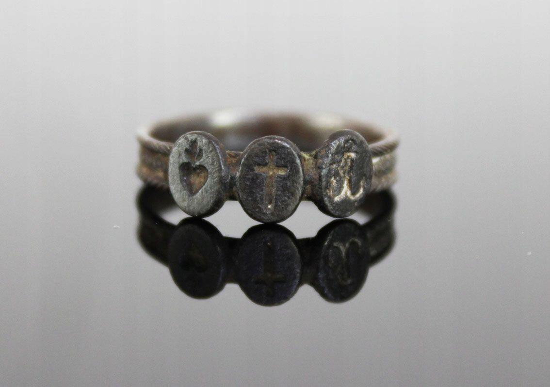 Pierscien Zeliwny Patriotyk 1860 1862 7558213604 Oficjalne Archiwum Allegro Engagement Engagement Rings Jewelry