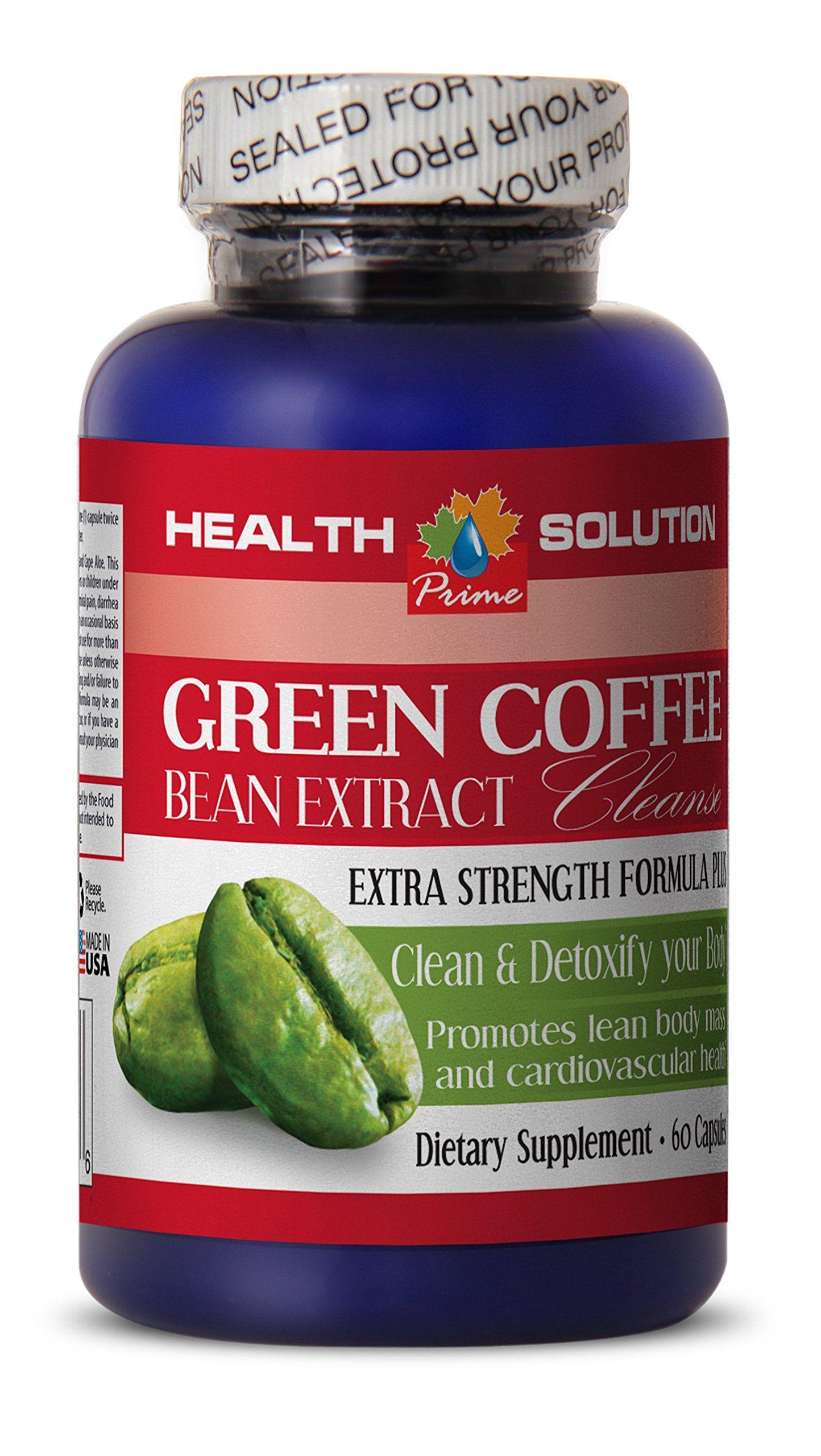 Bentonite Clay Organic GREEN COFFEE BEAN EXTRACT CLEANSE