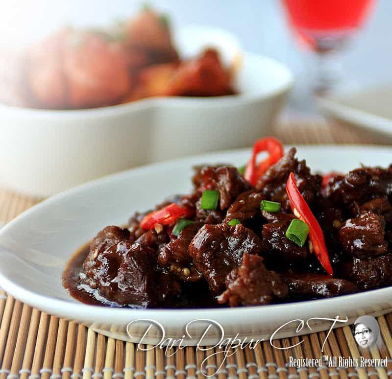 Daging Hitam Manis Di 2020 Resep Masakan Asia Resep Masakan Thai Makanan