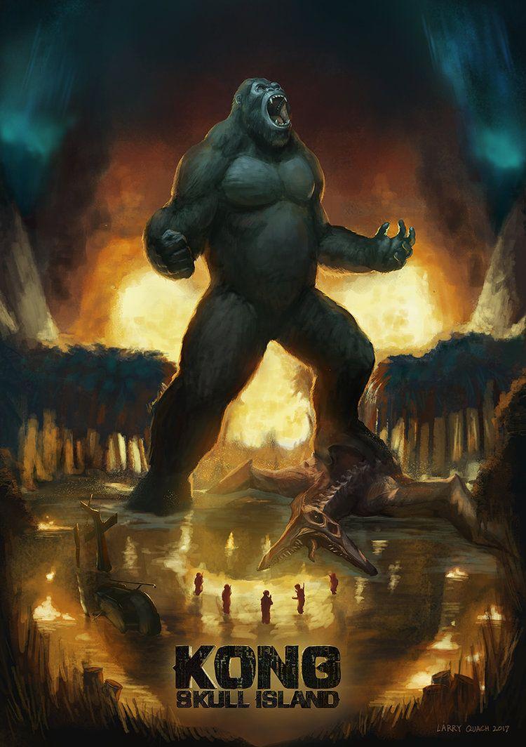 Kong skull island soundtrack on cd - Kong Skull Island Poster Final By Nobackstreetboys Deviantart Com On Deviantart