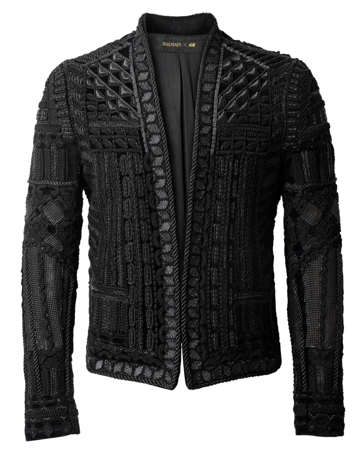 The 16 Most Outrageous Pieces in the Balmain x H M Collection ... d2eb682cbd32