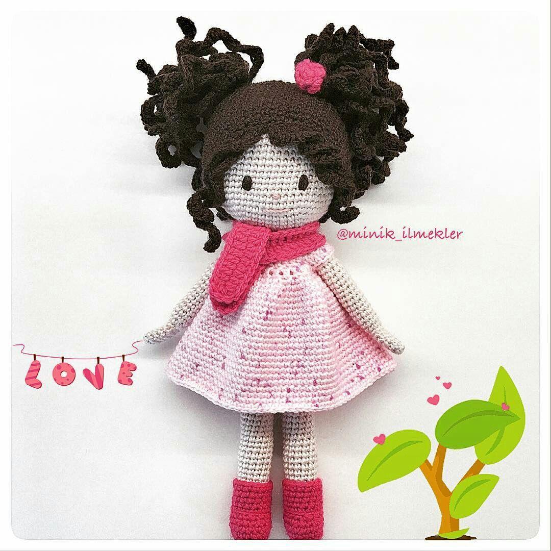 Pin von Simin Mahmoudi auf عروسک آوا Amigurumi Ava   Pinterest ...