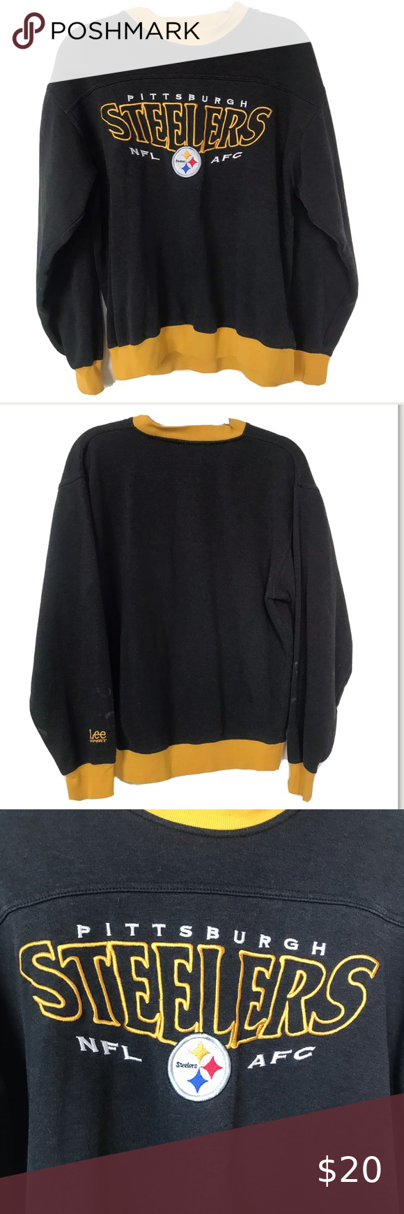 Lee Crew Sweatshirt Pitch Black Zalando Co Uk Long Sleeve Tshirt Men Crew Sweatshirts Sweatshirts [ 1100 x 762 Pixel ]
