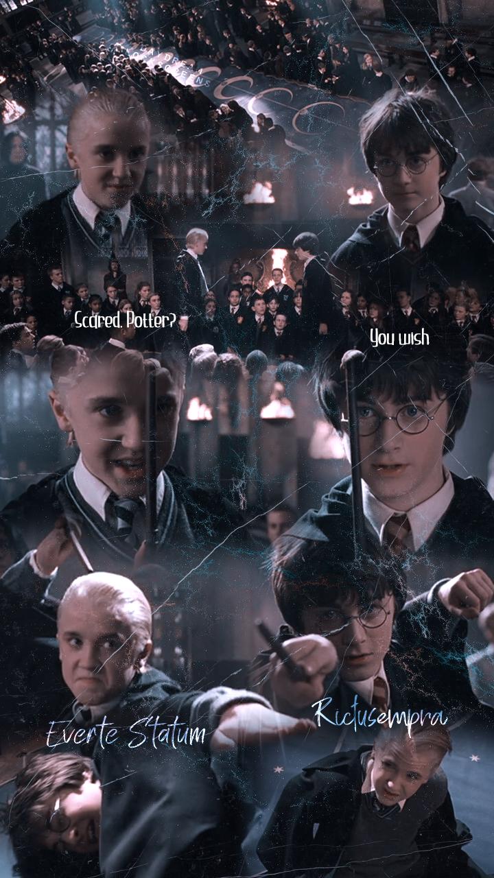 Harry Draco Lockscreen In 2020 Harry Draco Harry Potter Instagram