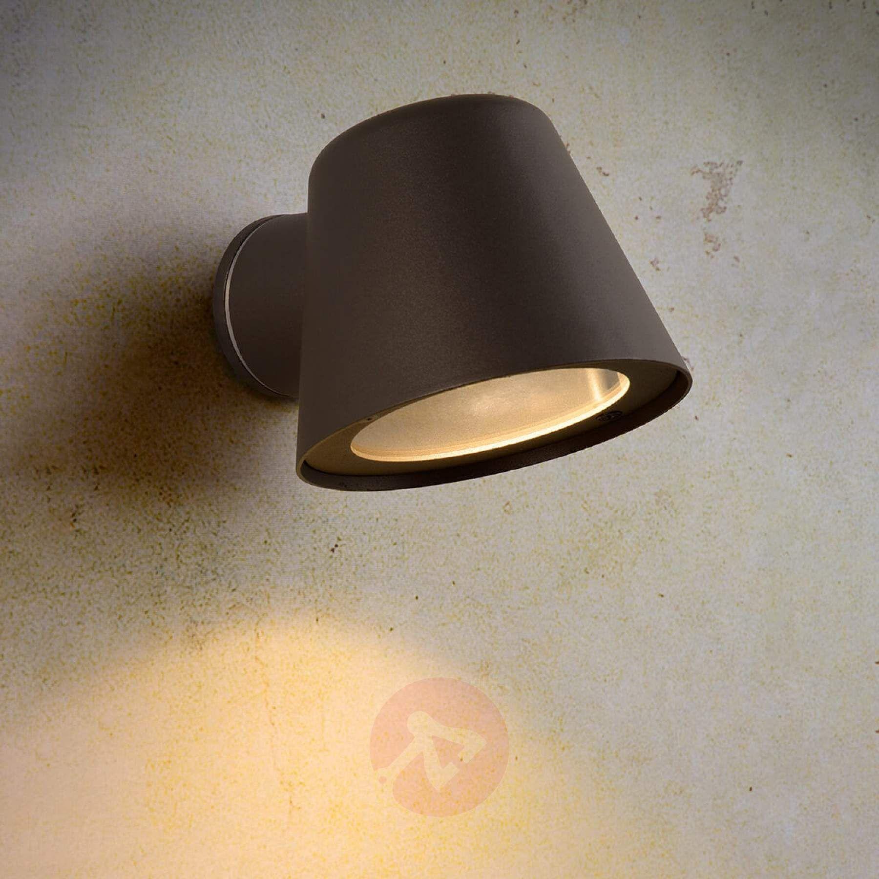 Czarny Kinkiet Zewnetrzny Led Dingo Gu10 Lampy Pl Led Outdoor Wall Lights Wall Lights Outdoor Ceiling Lights