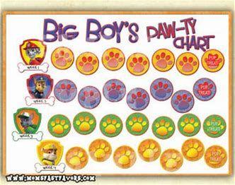 Resultado De Imagen De Paw Patrol Reward Chart Printable Landon