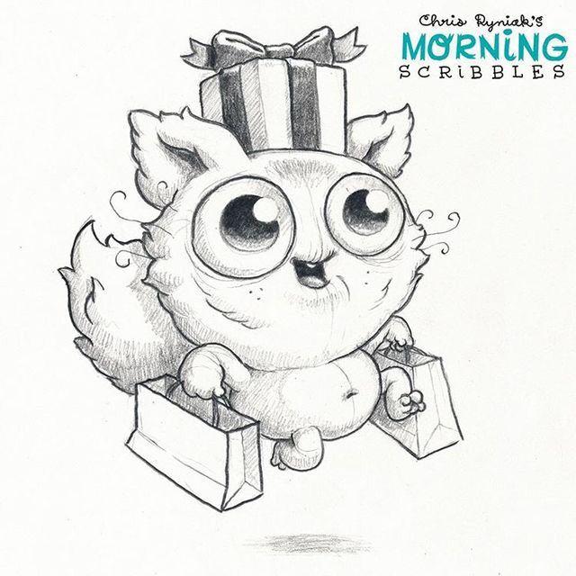 Artist Chris Ryniak - morning scribbles | Viola | Pinterest | Dibujo ...