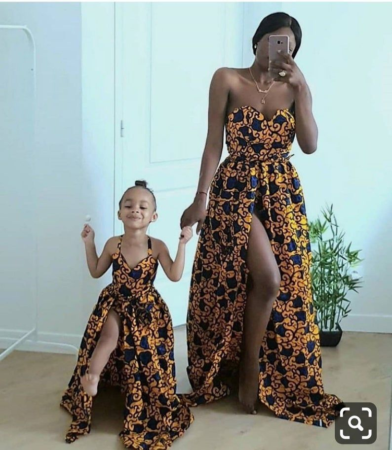 Mommy and me Africa outfits, Africa women clothing