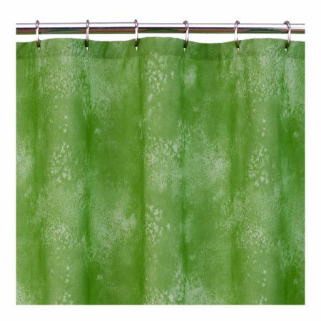 Caribbean Coolers Water Color Tie Dye Lime Green Shower Curtain In 9  Colors, 250 TC