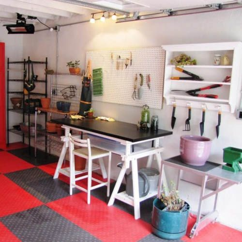 transformer son garage en pi ce de vie l atelier multi. Black Bedroom Furniture Sets. Home Design Ideas