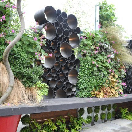Des idées récup\' à piquer aux paysagistes pour un jardin urbain ...