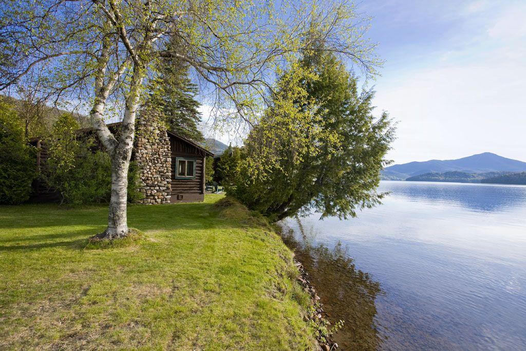 Just Steps From The Water's Edge, Lakefront Cabins Www