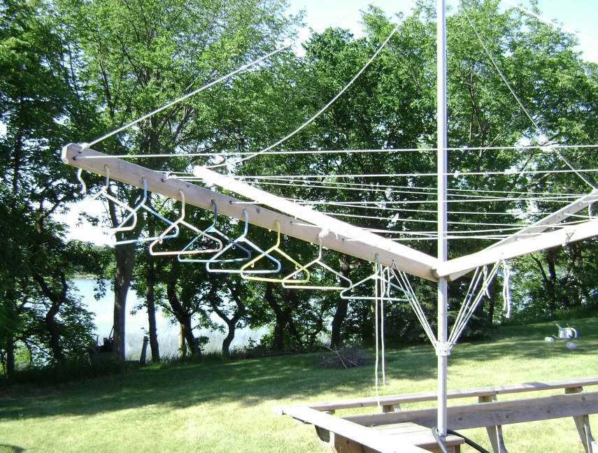 Diy Clothes Drying Rack Clothes Line With Hanger Holes Diy Clothes Drying Rack Drying Clothes Clothes Drying Racks