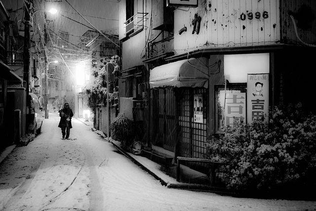 Tokyo Snow by Chris Gilloch